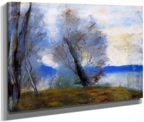 On Lake Garda By Lesser Ury