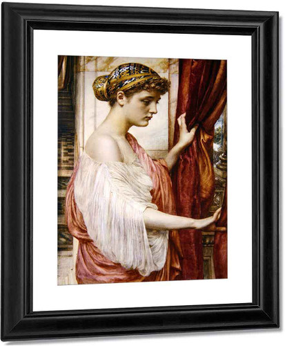 At The Window By Sir Edward John Poynter