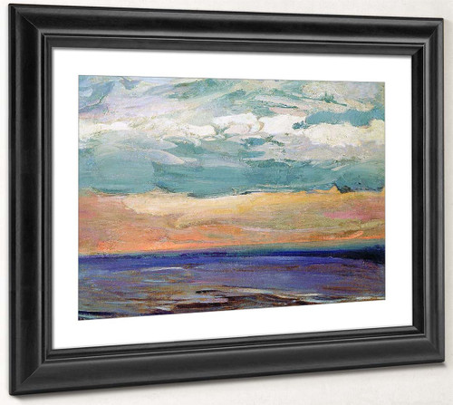 On The White Sea By Abram Efimovich Arkhipov