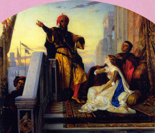 Othello Relating His Battles By Alexandre Cabanel