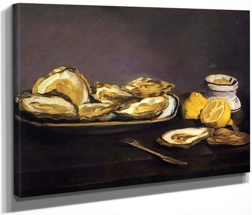 Oysters By Edouard Manet By Edouard Manet