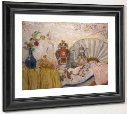 Porcelaines And Masks By James Ensor By James Ensor