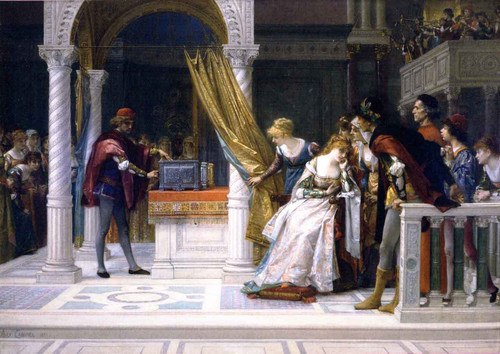Portia From The Merchant Of Venice By Alexandre Cabanel