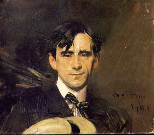Portrait Of Sem  By Giovanni Boldini By Giovanni Boldini