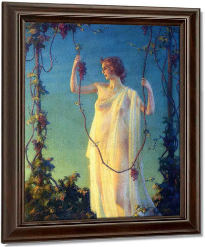 Autumn By Charles Courtney Curran
