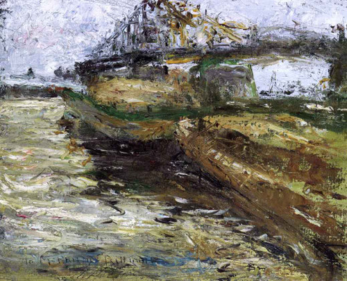 Provincetown By Charles W. Hawthorne