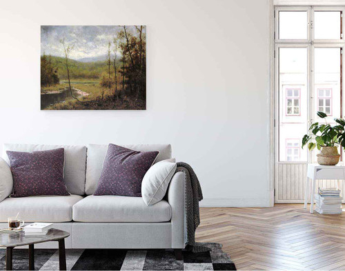 Quiet Stream, Adironcack Mountains By Alexander Helwig Wyant