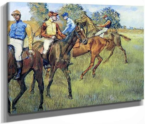 Race Horses1 By Edgar Degas By Edgar Degas