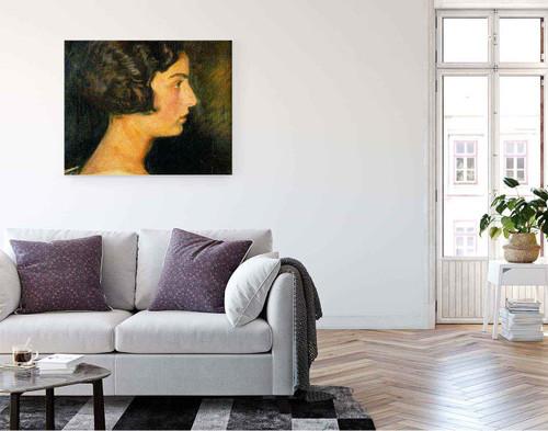 Retrato De Carmen Mongrell 1 By Jose Mongrell Torrent