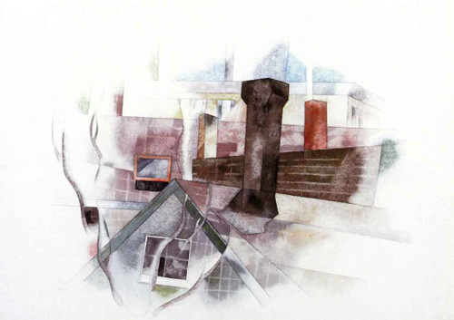 Rooftops, Provincetown By Charles Demuth By Charles Demuth
