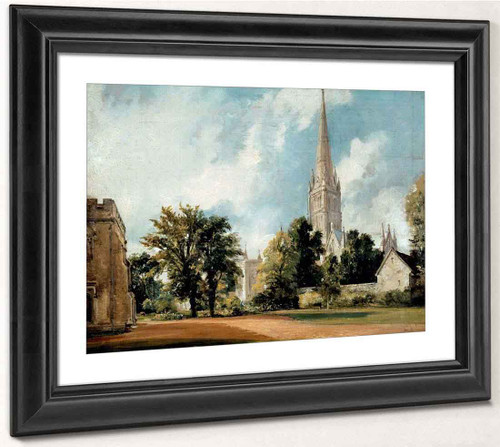 Salisbury Cathedral From The Close By John Constable By John Constable