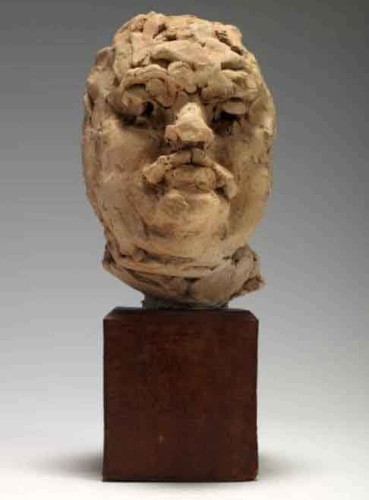 Balzac (Clay Study Of Head) By Auguste Rodin(French, 1840 1917)
