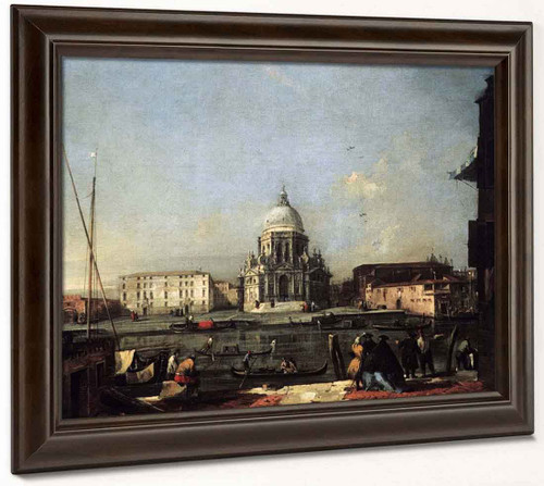 Santa Maria Della Salute Viewed From Across The Canal By Francesco Guardi