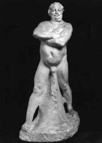 Balzacnude Study By Auguste Rodin