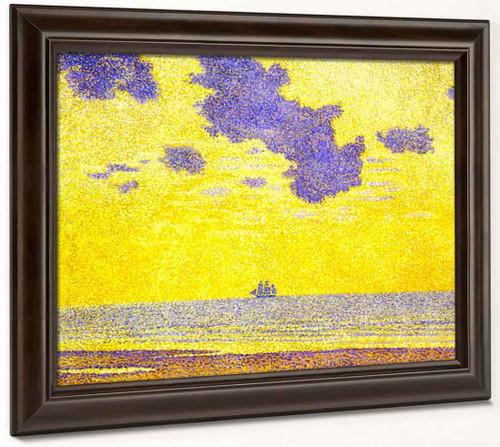 Seascape By Theo Van Rysselberghe