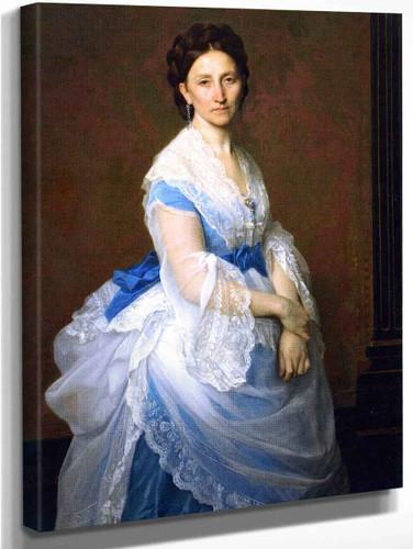 Baroness Paul Von Derwies By Alexandre Cabanel