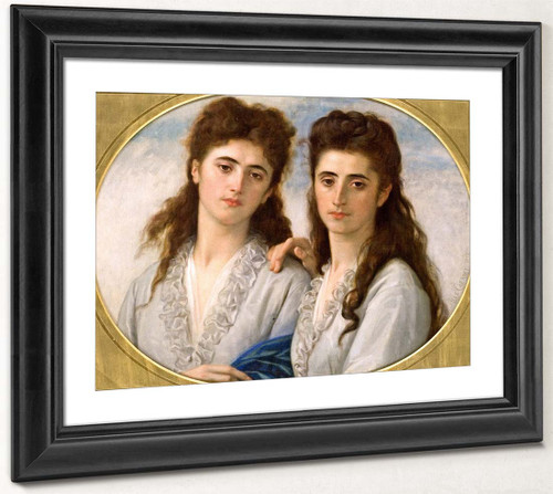 Sophie And Berthe Cabanel By Alexandre Cabanel