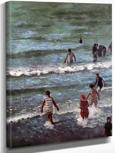 Bathers, Dieppe By Walter Richard Sickert By Walter Richard Sickert