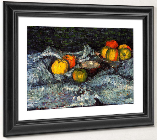 Still Life With Apples 4 By Alexei Jawlensky By Alexei Jawlensky