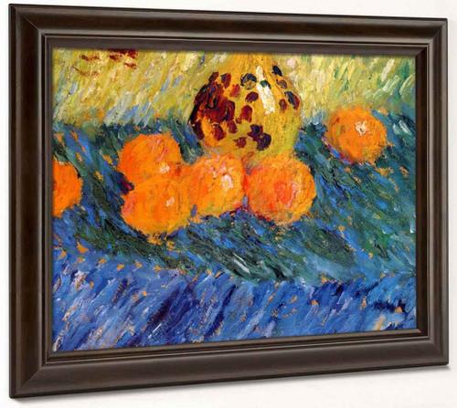 Still Life With Oranges By Alexei Jawlensky By Alexei Jawlensky