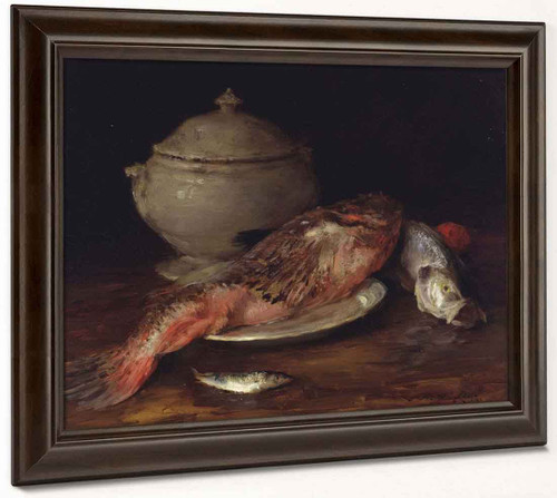 Still Life By William Merritt Chase By William Merritt Chase