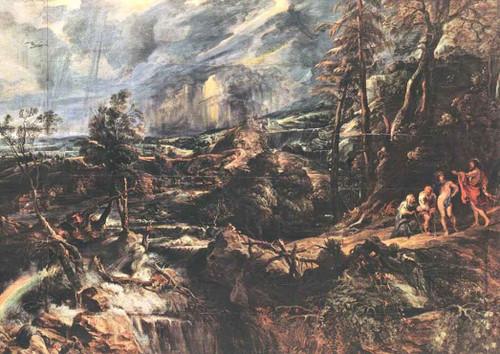 Stormy Landscape By Peter Paul Rubens By Peter Paul Rubens