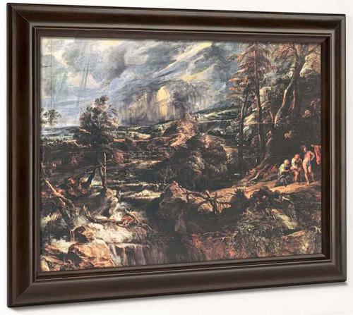 Stormy Landscape By Peter Paul Rubens By Peter Paul Rubens