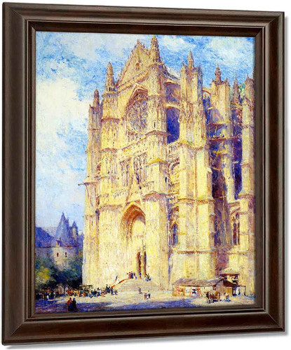 Beauvais Cathedral By Colin Campbell Cooper