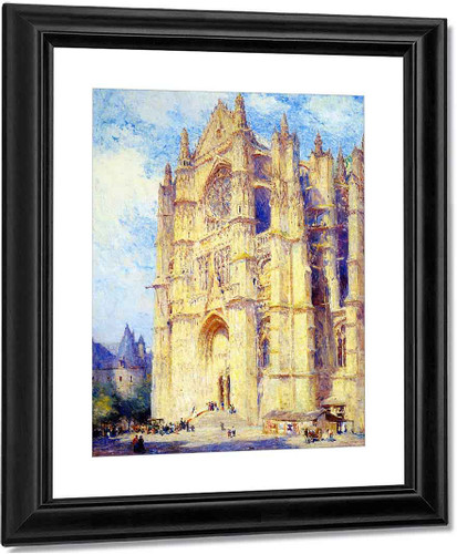 Beauvais Cathedral By Colin Campbell Cooper By Colin Campbell Cooper