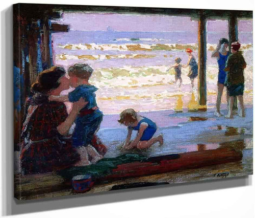 Sunlight And Shadow By Edward Potthast By Edward Potthast
