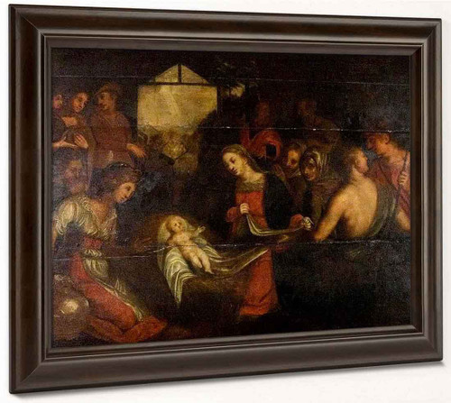 The Adoration Of The Shepherds1 By Paolo Veronese