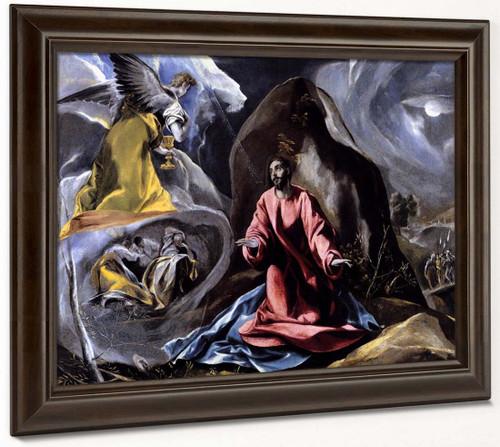 The Agony In The Garden By El Greco By El Greco