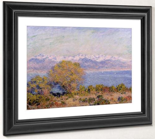 The Alps Seen From Cap D'antibes By Claude Oscar Monet