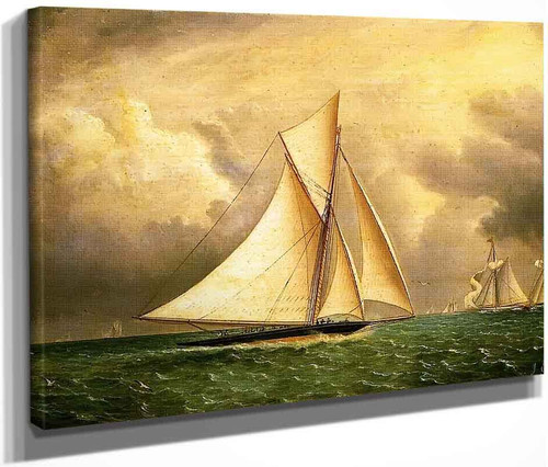 The Approaching Storm By James E. Buttersworth By James E. Buttersworth