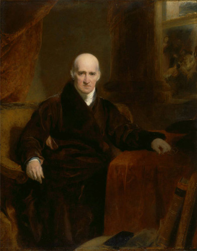 Benjamin West P.R.A. By Sir Thomas Lawrence