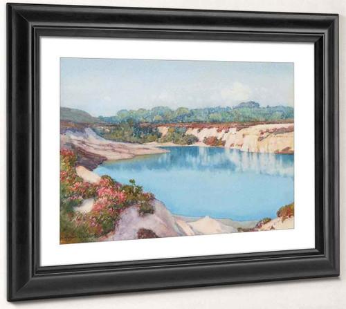 The Blue Pool By Albert Moulton Foweraker