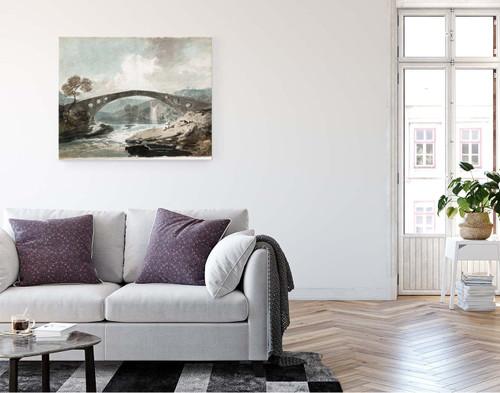 The Bridge At Pontypridd By Joseph Mallord William Turner