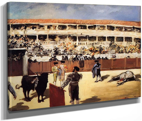 The Bullfight By Edouard Manet By Edouard Manet