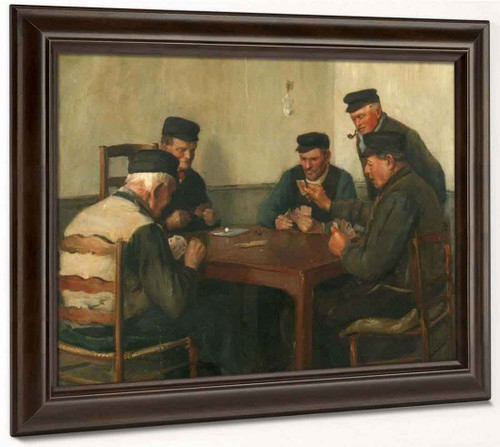 The Card Players By Norman Garstin