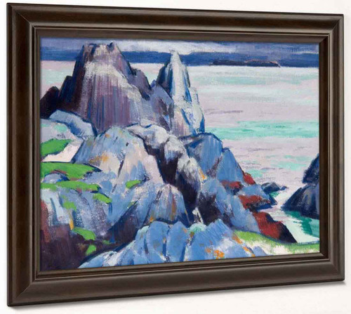 The Cathedral Rock, Iona By Francis Campbell Bolleau Cadell By Francis Campbell Bolleau Cadell