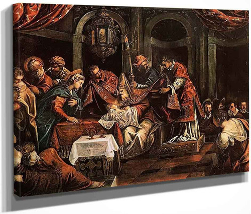 The Circumcision By Jacopo Tintoretto