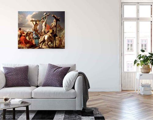 The Crucifixion By Giovanni Battista Tiepolo