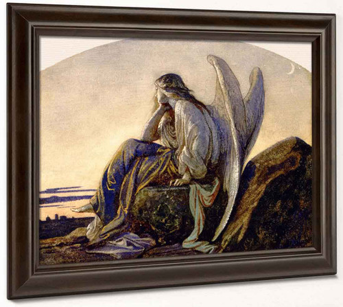 The Evening Angel By Alexandre Cabanel