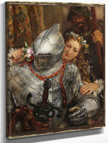 Blind Man's Buff By Adolph Von Menzel Art Reproduction