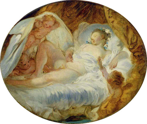 The Match To Powderkeg By Jean Honore Fragonard  By Jean Honore Fragonard
