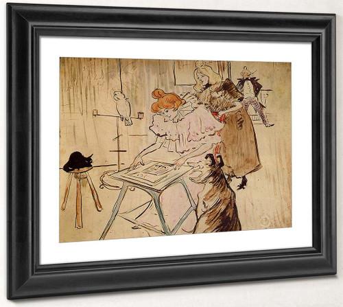 The Motograph By Henri De Toulouse Lautrec