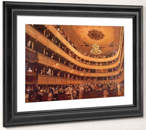 The Old Burgtheater By Gustav Klimt By Gustav Klimt