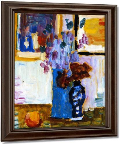 Blue Vase By Alexei Jawlensky