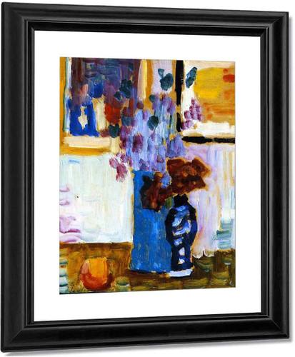 Blue Vase By Alexei Jawlensky By Alexei Jawlensky