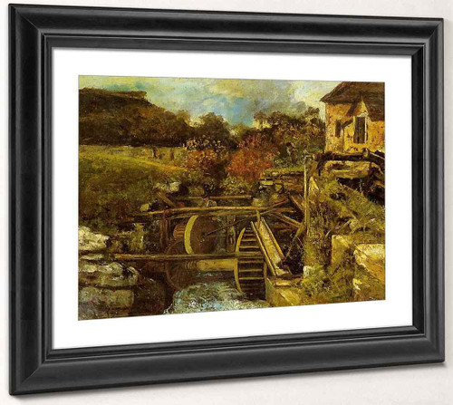 The Ornans Paper Mill By Gustave Courbet By Gustave Courbet